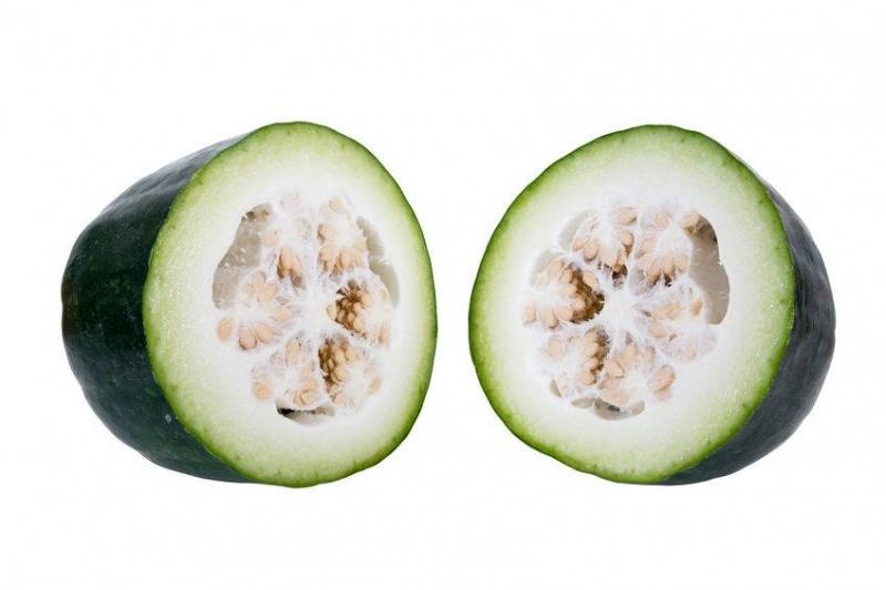 冬瓜外面白色的是什么冬瓜外面白色的能吃吗